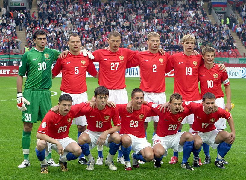 Игроков сборной россии по футболу