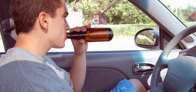 Выпивший несовешенолетний за рулем сидели